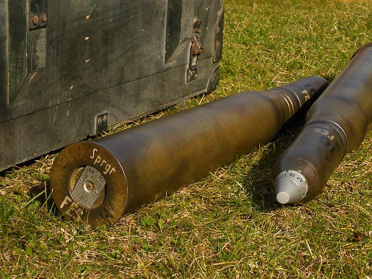 German 50 Mm Anti Tank Gun: German 5cm Sprgr.Patr.38 Replica