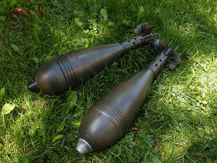 German 8cm Wgr 38 mortar round | Replica Arms Manufacturer